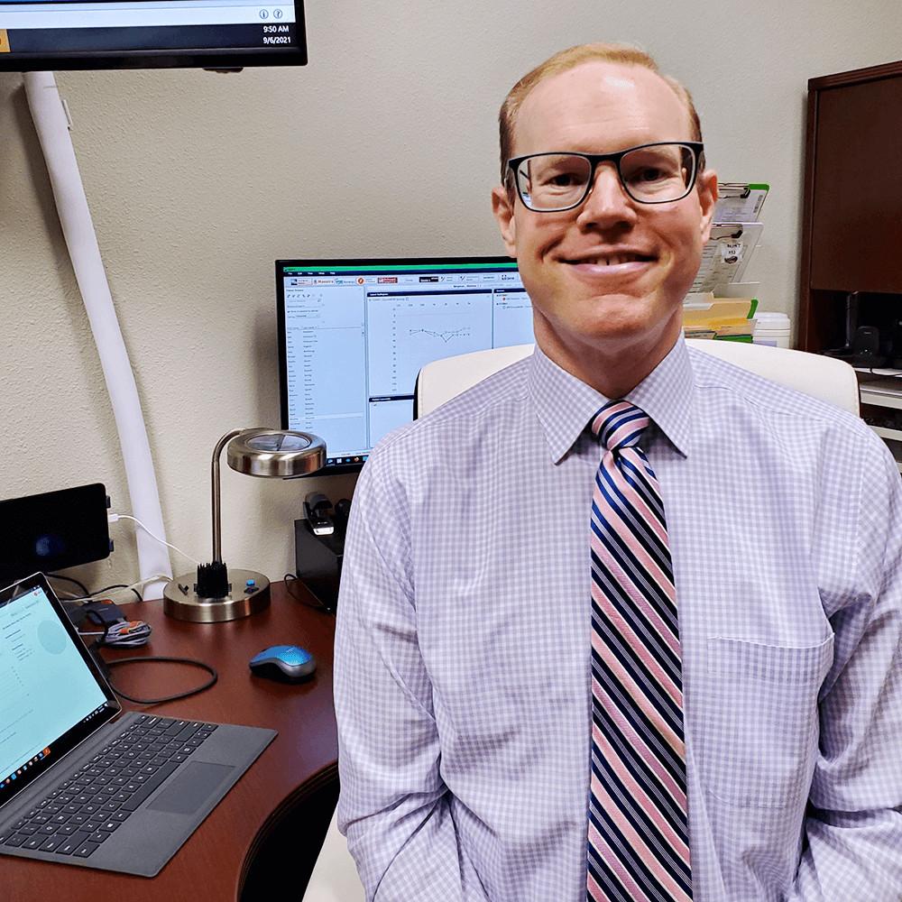 Zach, hearing instrument specialist